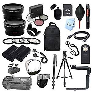 Deluxe (67MM) 24 Piece Accessory Bundle for Nikon D300 Digital SLR Camera (Fits standard 18-55mm, 50MM F18D, 35MMF/1.8G, 50MM F/1.4D, 55-200MM F/4-5.6G, 35MM F/2D, 85MM F/3.5G)