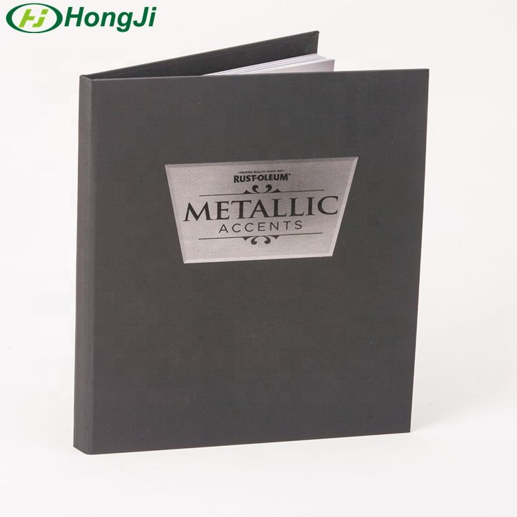 Custom Printing 3 Ring Binder A5 A4 B6 File Holder 6 Paper Ring Binder