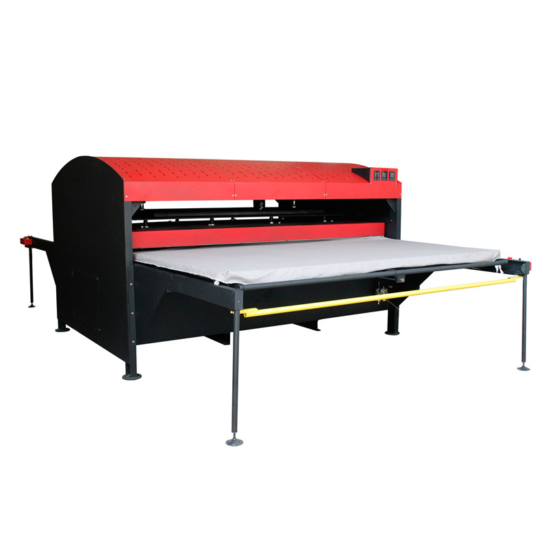 Double Stations Automatic Hydraulic Dye Sublimation Printing Machine Hot Foil Stamping Printer Printing Flatbed Printer
