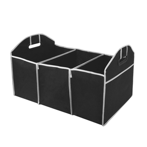 Hot Sale Folding Car Organizer Automobile Stowing Tidying Car-styling Boot Stuff Food Storage Bags Trunk Organizer Bag