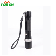 Factory hot selling military torch aluminium body focusable multi color led tactical flashlights