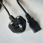 Sell well UK power cord plug for computer