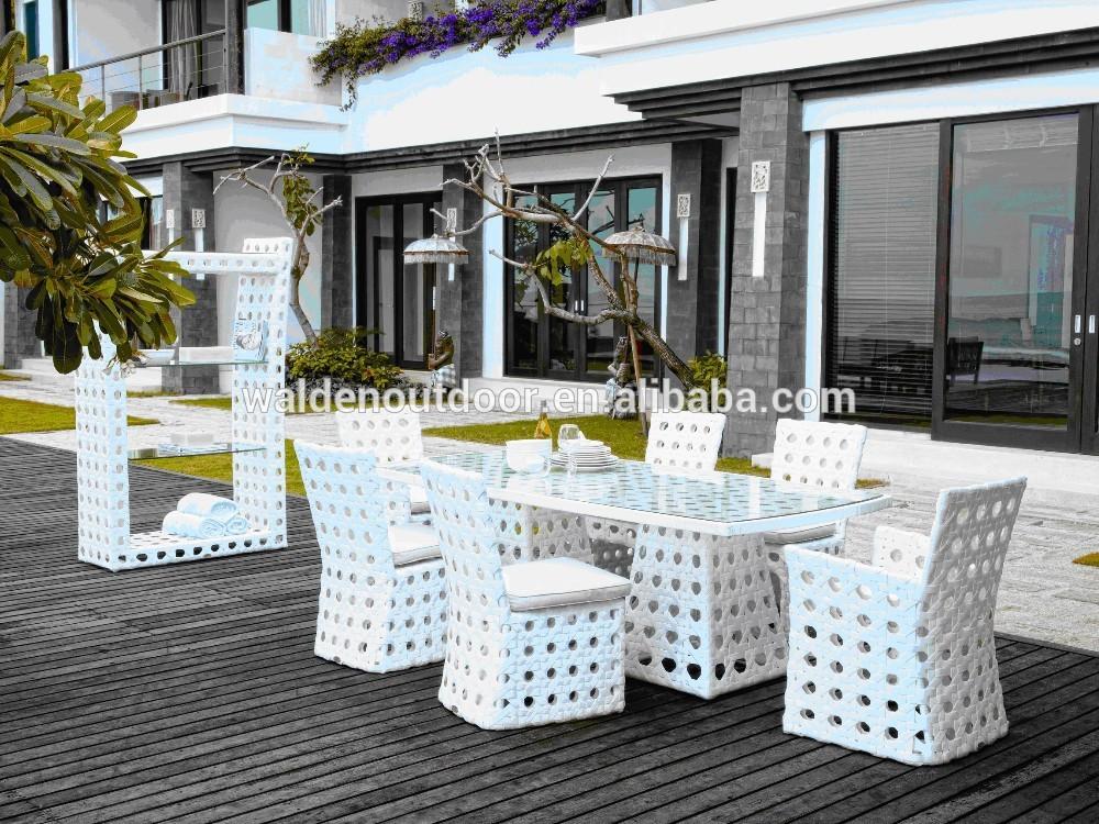 Costco salon de jardin blanc meubles en osier ( DH-9538 ...