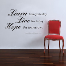Learn Live Hope Quotes Wall Stickers Family Quotes Sticker for Living Room Bedroom Family Removable Vinyl Quotes Wall Decal