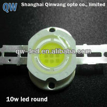 high intensity luxeon 10w white high power led chip made in China