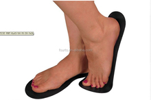 High quality EVA foam spray tanning sticky feet pad for fake tan for salon spa