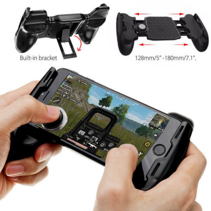 Gamepads Back To Search Resultsconsumer Electronics Mobile Gaming Handle Controller 3 In 1 Gamepad For Smartphone Fire Button Aim Key Smart Phone Trigger R1 L1 Shooter Gampads Hot Convenience Goods