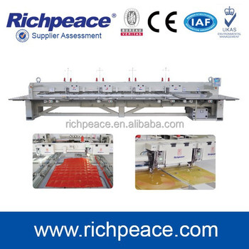 Richpeace Multi-head Automatic Sewing Machine With Low Vibration