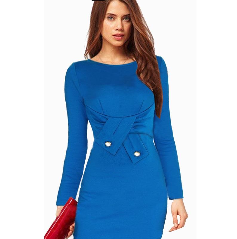 c33eba844 Get Quotations · 2015 New Fashion Elegant Belted Tartan Women Dresses Tunic  Work Casual Party Bodycon Pencil Sheath Summer