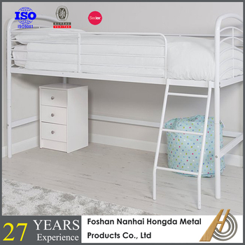 Metal Single Size Mid Sleeper Loft Bunk Bed Buy Kids Bunk Bed Loft