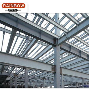 low cost steel structure building light steel frame