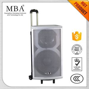Portable power bank bluetooth wireless laptop mega sound speakers with microphone