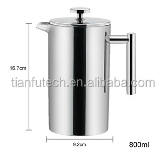 how to use a plunger coffee maker