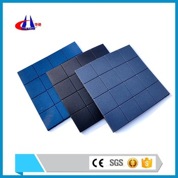 China supplier 10-50mm thickness rubber tile coin grip rubber flooring