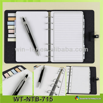 Wt-ntb-715 Divider Tabs Wire-o Notebook