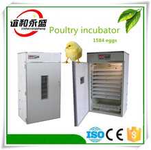 100% factory supply 1584 eggs capacity automatic large chicken egg incubator