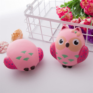 Wholesale Cute Squishy Custom Scented Squeeze 13CM Night Owl Toy