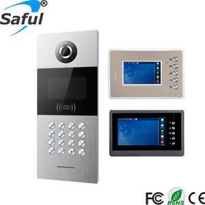 Digital Vandal-Resistant Door Station Ethernet Network video Intercom For Building