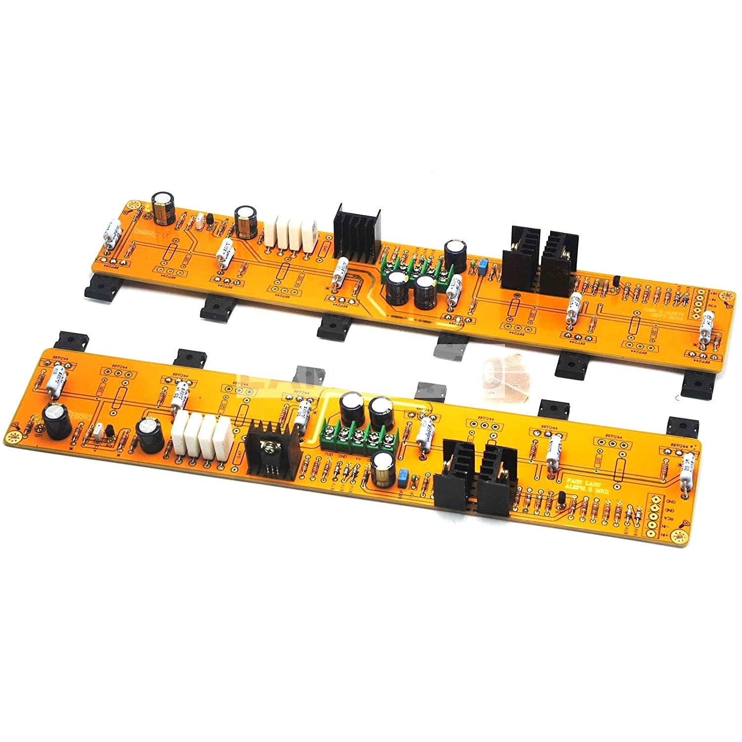 2PASS A5 HIFI Amplifier board IRF244 IRF9610 60W+60W DC35V Class A single-ended