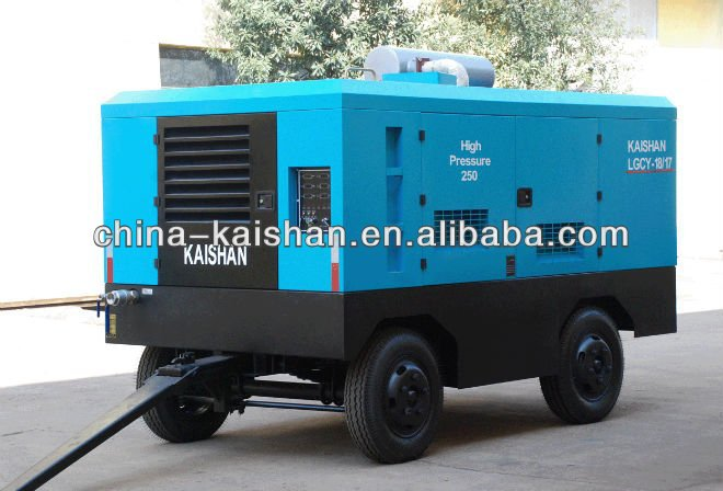 Hot selling screw diesel power air compressor philippines