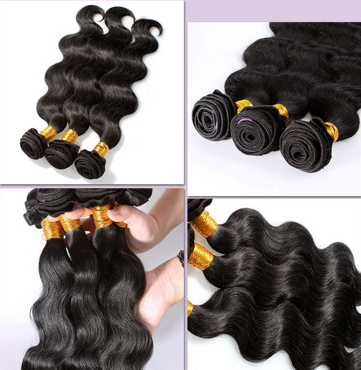 9A grade Malaysian virgin hair straight 4 bundles,Unprocessed malaysian hair,human hair