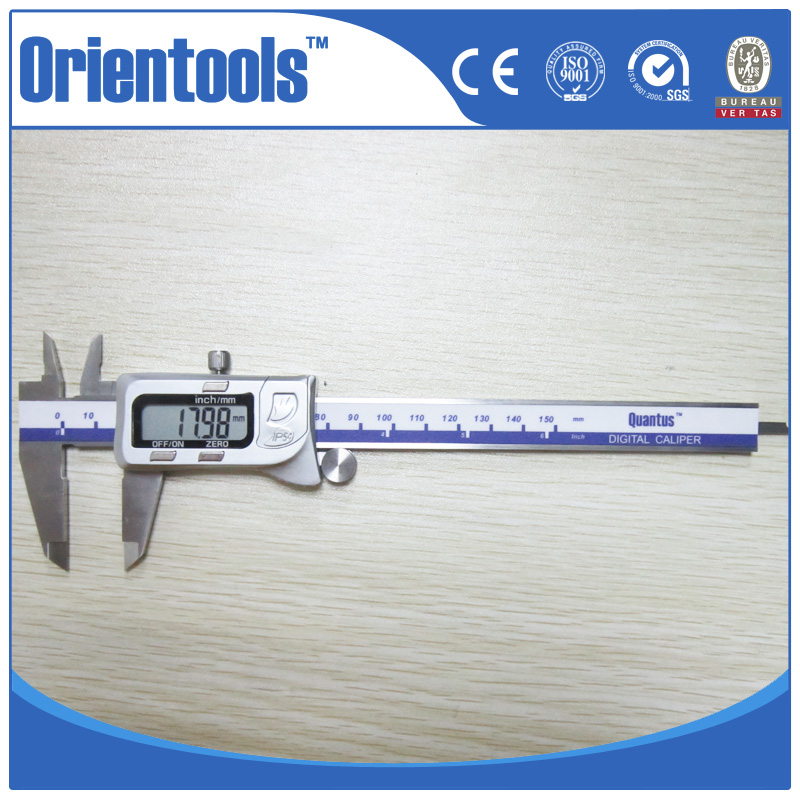 IP54 Outside Water Proof 150mm Stainless Hardened Electronic Caliper