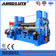 SGS Certificate Hydraulic 4-Roller Plate Roll Machine W12 6X2000 WITH THICKNESS 6MM ROLL CAPABILITY MACHINE