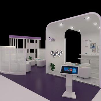 Modern Exhibition Stall Design : Customized modern collapsible booth design buy exhibition booth