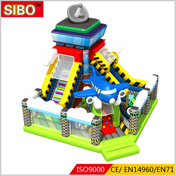 High quality commercial grade bouncy castle game inflatable bouncer slide combo