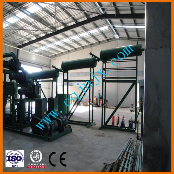 Low Cost ZSA Used Engine Oil Re refining Machine Get High Quality Base Oil From Used Oil