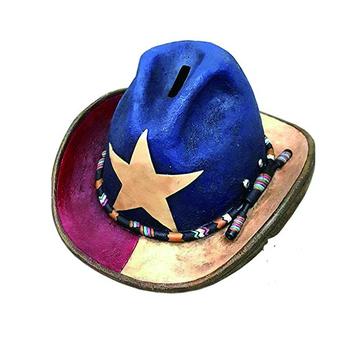 Vaquero Occidental Sombrero Banco Moldeado De Resina - Buy Divertido ... 51641d08244d