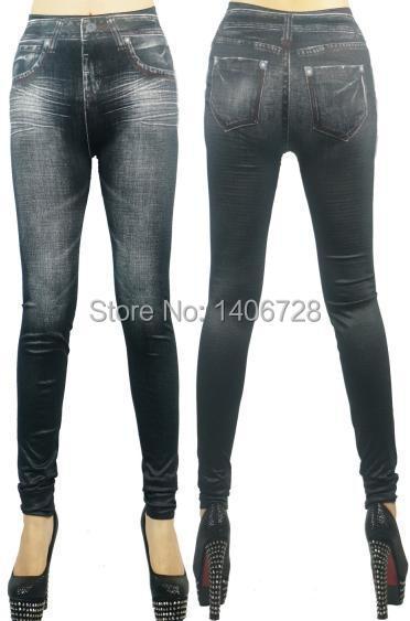 e896e9e77fb757 Tight Denim Jeans Pants Skinny Jeggings Fashion Women 9070 Stretchy Tights  Slim Leggings for Women