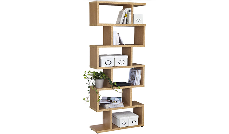 JS-BC022 Portable Wooden Book wall cube shelf
