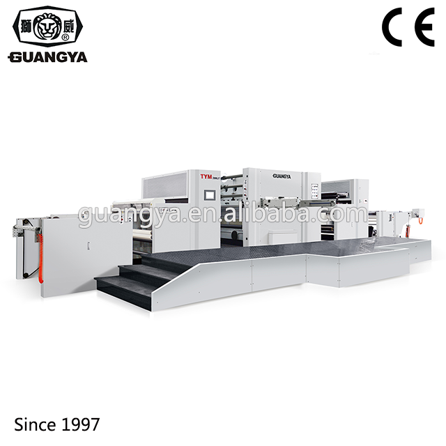TYM2000JT high speed automatic paper cup couplets hot foil stamping machine