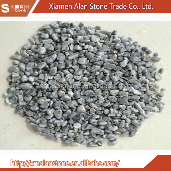 China Wholesale Granite Grey Pebble Stone Tile