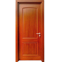 Cheap price solid wooden door malaysia interior wood door with good quality