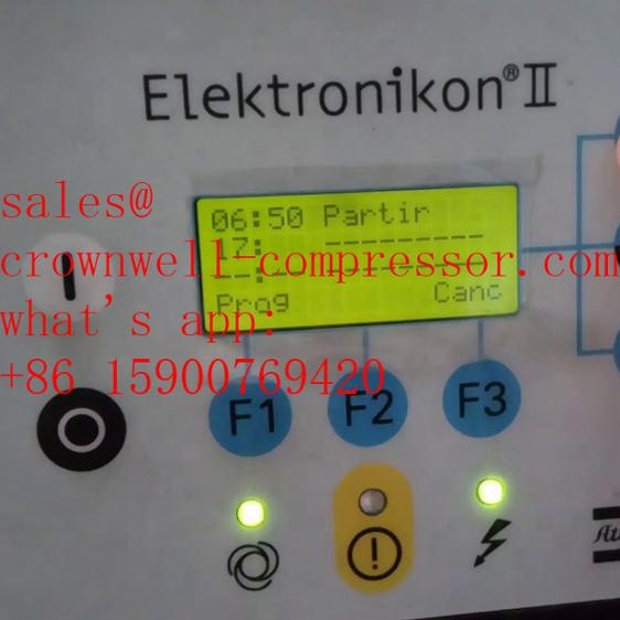 Atlas Copco ELEKTRONIKON 1900071271 elektrische compressor display Controller Panel