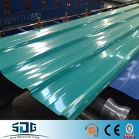color coated roofing sheets/corrugated galvanized zinc roof steel sheet export to Africa