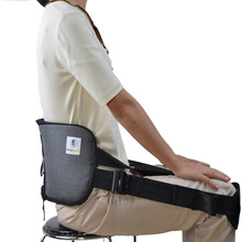 Factory price adjustable back straightening waist brace lumbar support girdle belt for back pain