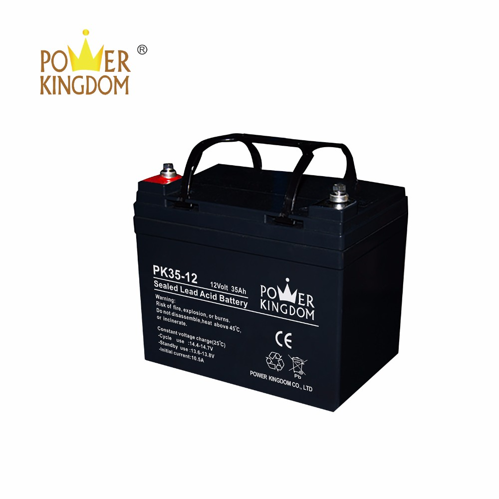 Power Kingdom Latest valve regulated gel battery free quote solar and wind power system-3