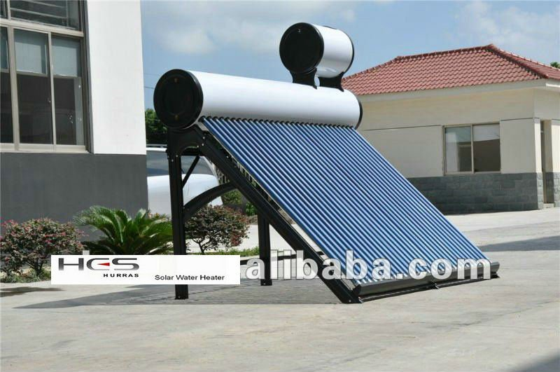 Pre-heat Pressure Solar Water Heater With Copper Coil Export To ...