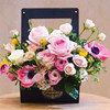 New Arrival Cheap Paper hat flower gift box packaging