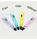 Kids doodler painting intelligent 3D pen print scribbler drawing 3D wax toy pen