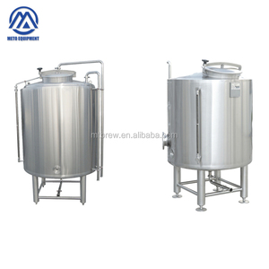 Copper hot water tank 500l 1000l 2000l 3000l stainless steel electric hot liquor tank