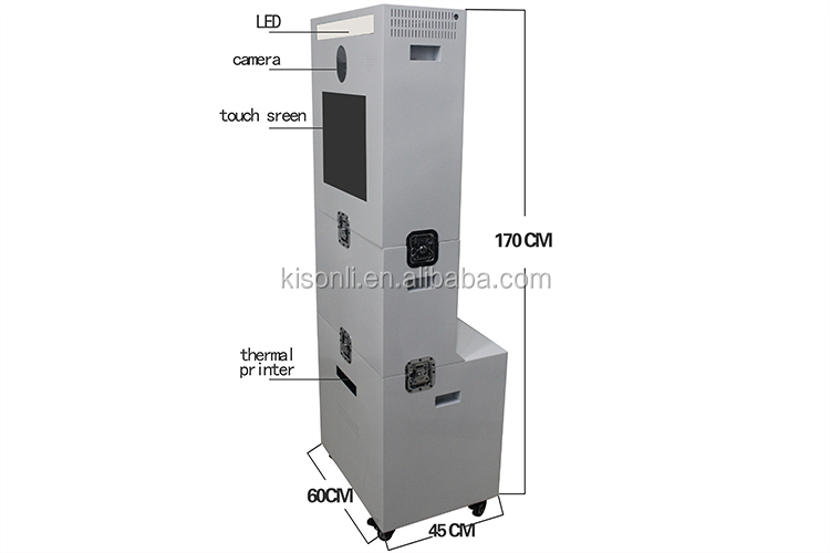 portable photo booth enclosure shell cabinet for wedding