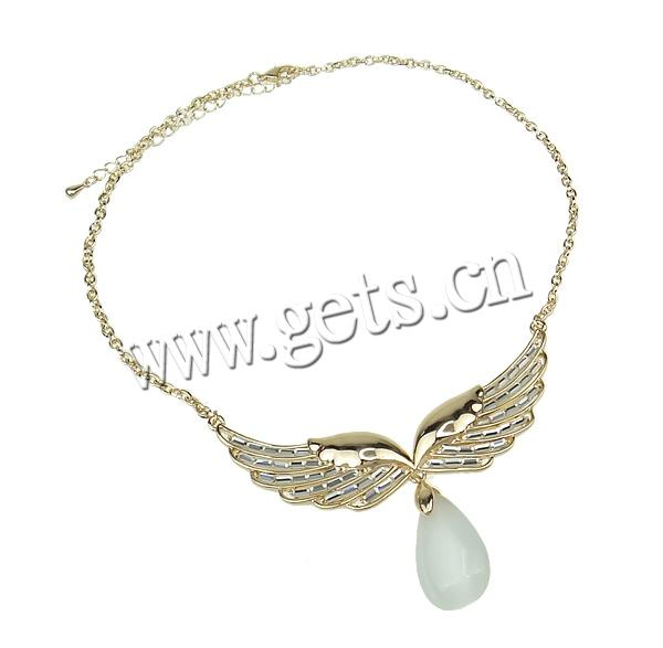 Zinc Alloy Wing Shape 14 Kt Scrap Gold Chain 711630