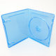 7mm Slim Plastic Single DVD Blu Ray Case With Emboss Bluray Logo