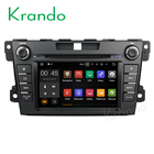 Krando 7'' car dvb radio player Android 7.1 for Mazda CX-7 2007-2015 car gps navigation system wifi 4g lte 2G RAM BT KD-MZ807
