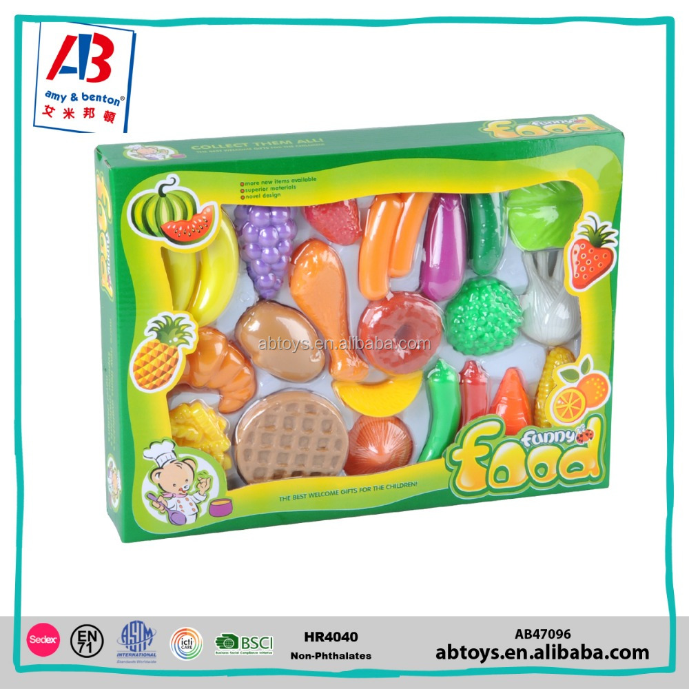 Wholesale High Quality children educational toys just like home play food