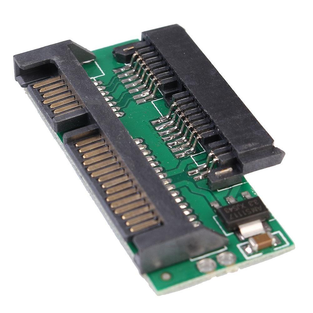 Buy Pro 18 Micro Sata Msata To 7 15 25 Inch Adapter Converter Ssd 22 Pin Card Board